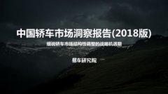 易车研究院发布《中国轿